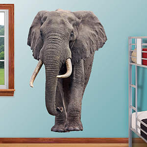Elephant Fathead Wall Decal